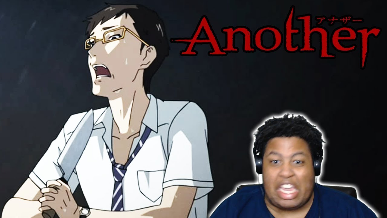 THIS ANIME IS CRAZY!! Another all of deaths Uncensored Live Reaction