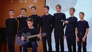 Конкурс инсценированной патриотической песни. 7-8 классы