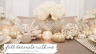 DECORATE WITH ME! FALL DINING ROOM DECOR! 🍁✨