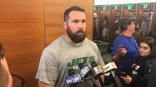 How long until Jets' Ryan Kalil is in football shape?