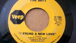 Tina Britt - I Found A New Love (1968)