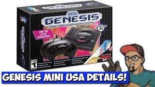Sega Genesis Mini NEW USA Version Details!