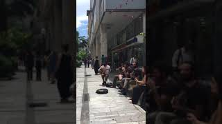 Greek street music