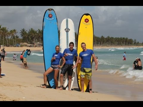 Surfing Macao Beach Dominican Republic
