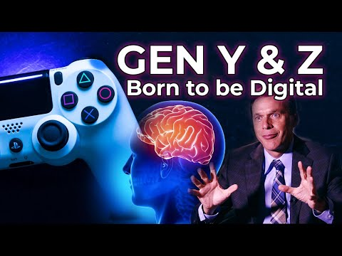 Gen Y and Z - Born to be Digital