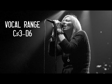 The Vocal Range of Beth Gibbons (Portishead)