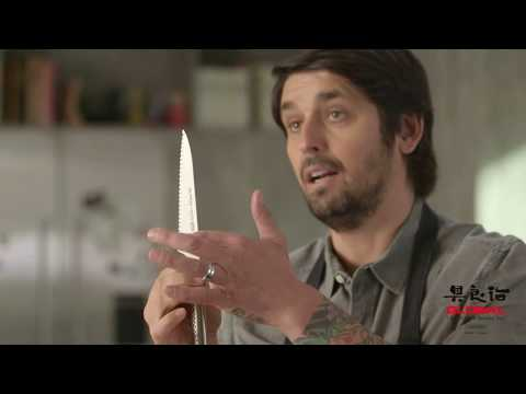 Ludo Cuts with GLOBAL Knives: Four Must-Have Knives - Episode 6