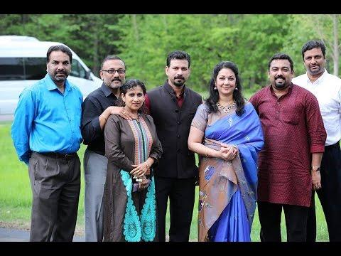Actress shanthi krishna family photo — 1