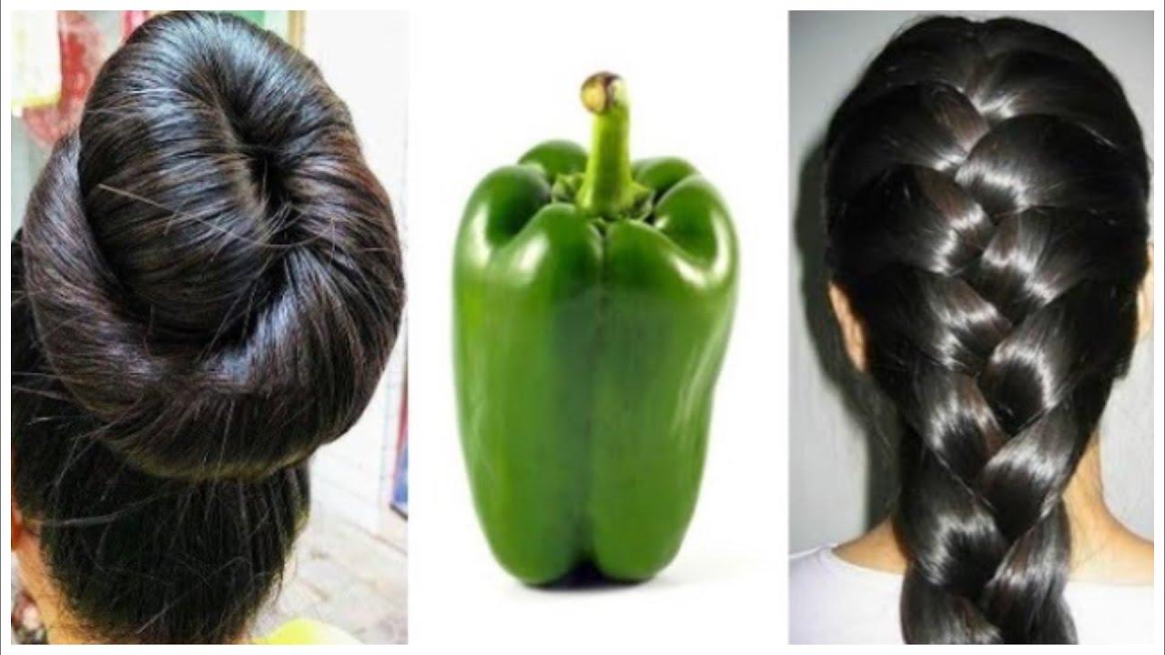 Mezcla pimiento y jengibre, acelera el crecimiento del cabello y trata la calvicie desde la semana 1