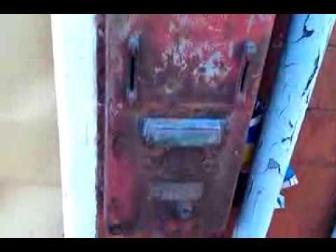 Old Welsh Cigarette Machine,