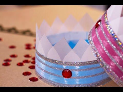 Diy couronne de prince et princesse youtube - Prince et princesse dessin ...
