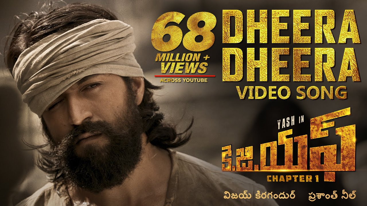 Download Dheera Dheera Full Video Song | KGF Telugu Movie | Yash | Prashanth Neel | Hombale | Ravi Basrur
