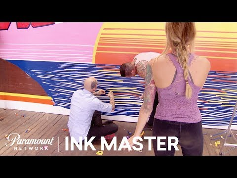 Tape Together: Testing Creativity With Tape? Flash Challenge  Ink Master: Grudge Match Season 11
