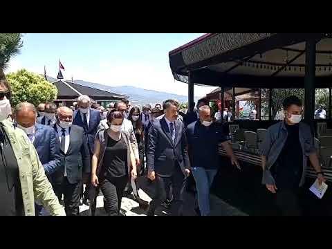 Kiraz ve Bayındır'a bakan ziyareti