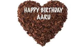 AaruIN  indian pronunciation     Chocolate - Happy Birthday