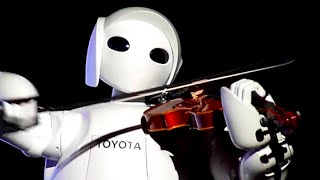 Toyota Robot is playing Elgar's Pomp and Circumstance March No. 1 i...