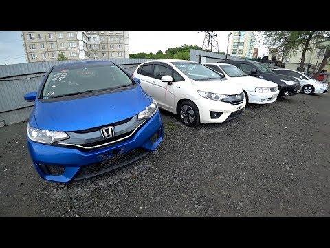Встречаем Toyota Wish 2010 и Prius PHV. Остров Русский. Honda Fit Гибрид и Бензин