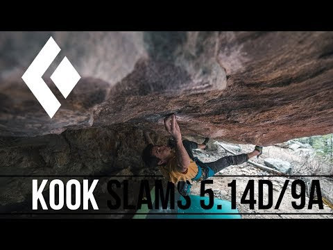 Paul Robinson - Kook Slams 5.14D/9a (2nd Ascent)