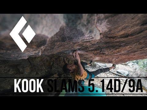 Paul Robinson - Kook Slams 5/9a (2nd Ascent)