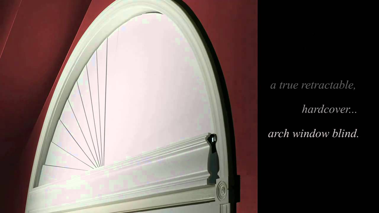 The moon shade blind youtube for Motorized arch window treatments