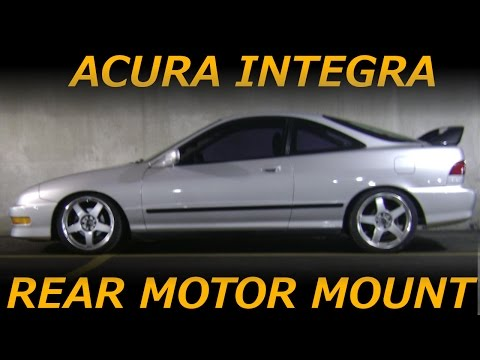 94-01 Acura Integra Rear Engine Mount Removal and Install