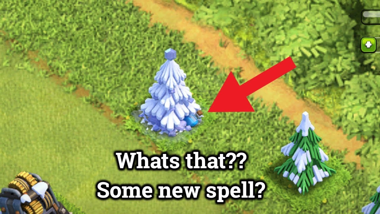 Clash Of Clans Whats Inside Xmas Tree 2017 Youtube