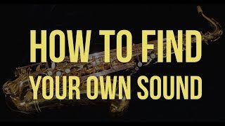 Lew Tabackin – How To Find Your Sound