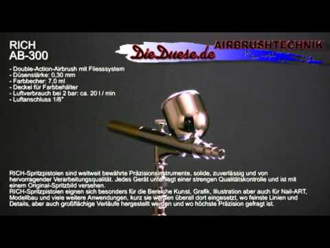 RICH AB300, Airbrush Archive Presented By DieDuese.de