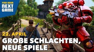 Shooter, RPG, MMO, Warhammer und der Live-Podcast | FYNG: Spring Edition Day 3