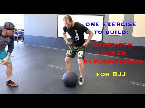 This one exercise will build strength, power, and explosiveness for BJJ
