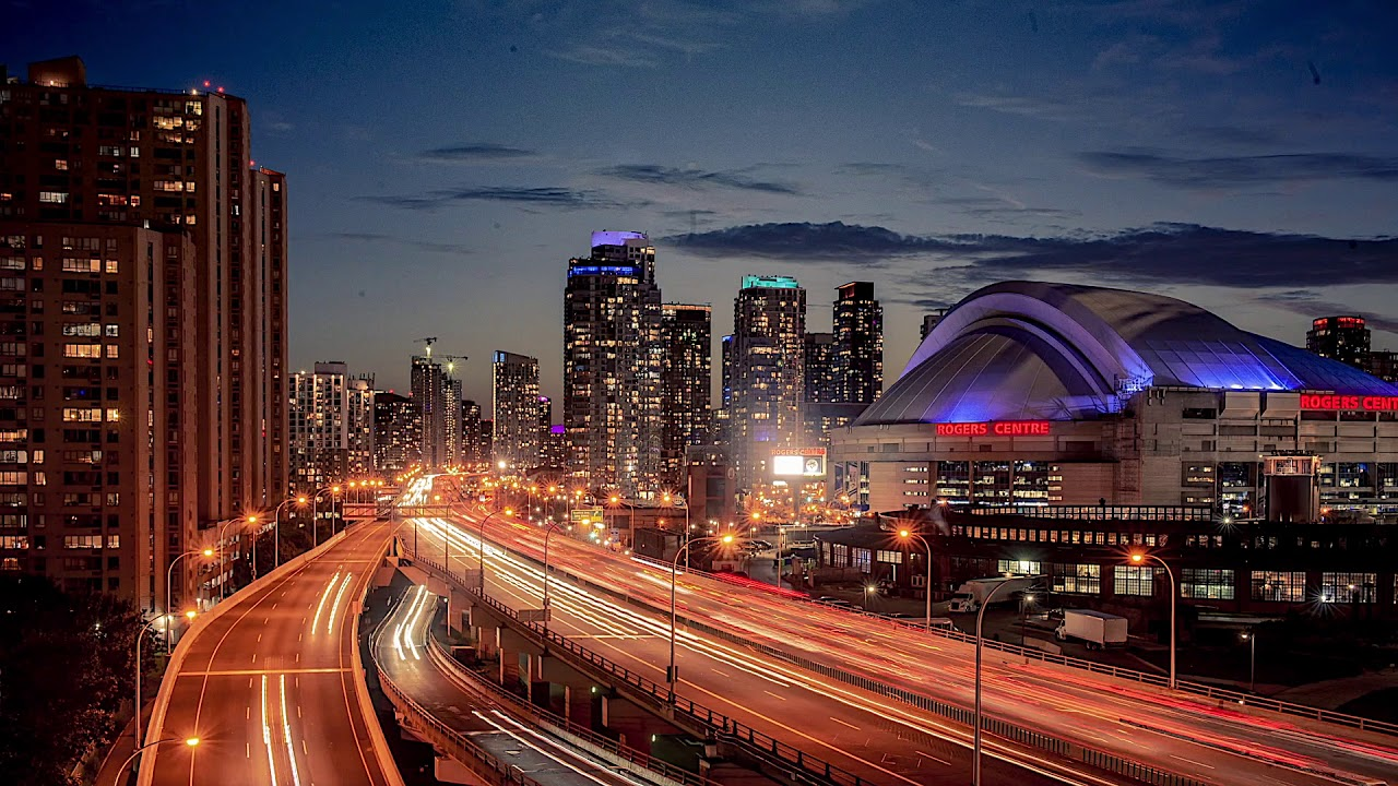 Rogers Centre X Eastbound Traffic Timelapse