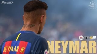 FIFA 17: Neymar JR. Goals & Skills 2017 |PURE SHOW - FIFA REMAKE| - by Pirelli7