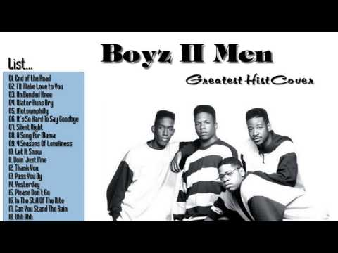 Boyz ii Men Greatest Hits Full Album  2017