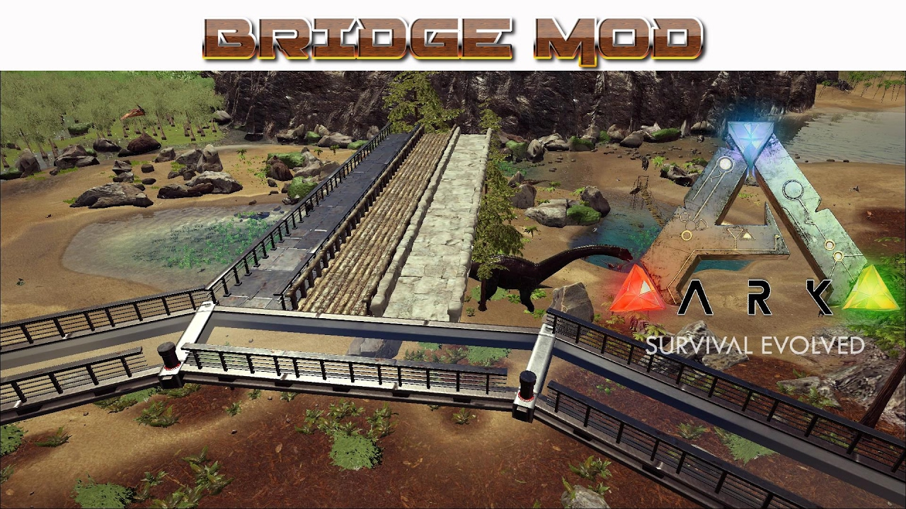 ARK: Survival Evolved - The Best Bridge Building Mods and
