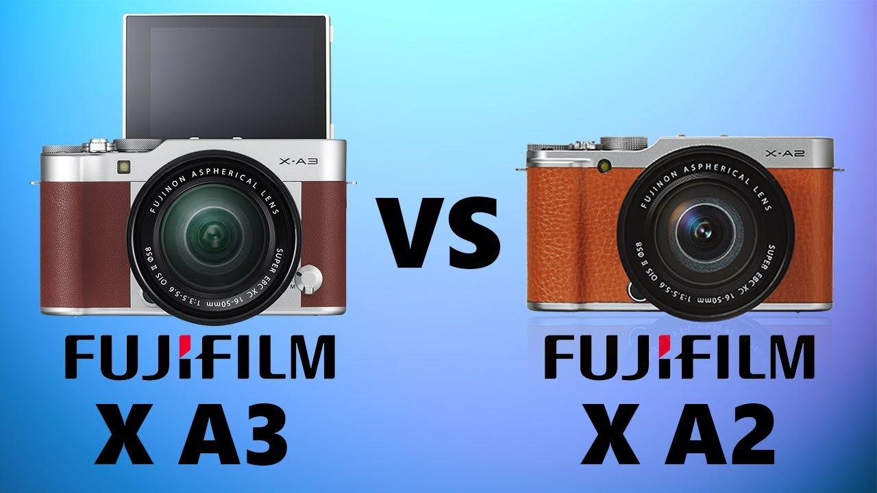 Fujifilm XA3 Vs XA2
