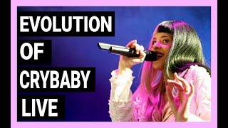 EVOLUTION OF CRYBABY LIVE [2014-2017] | Melanie's voice changed?!