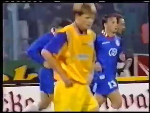 Mark Viduka Dinamo Zagreb 16 09 1997 Dinamo Zagreb 4x4 Grasshoppers Sui 1 Gol Youtube