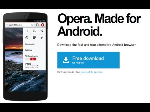 Opera Browser for Android Review - Features and Interface