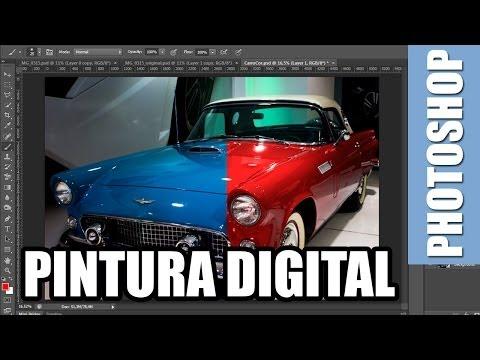 Tutorial Photoshop - Como Trocar A Cor De Um Objeto