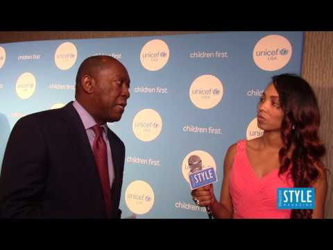 Mayor Sylvester Turner @ the 4th Annual UNICEF Audrey Hepburn Society Ball