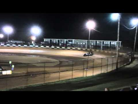 Mike Marlar Qualifying at Green Valley Speedway 2012 Bama Bash