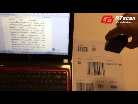 Small USB 2D And QR Bar Code Scanner For Kiosk Or ATM