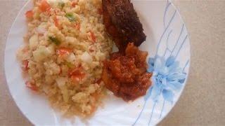 Attik recipe Ivorian food