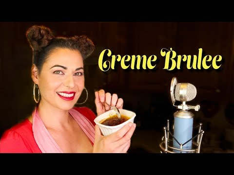 (ASMR) Creme Brulee Is Oddly Satisfying  🥄