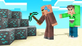 I STOLE My Friends BUTLER And MADE Him My MINER! (Minecraft Troll)