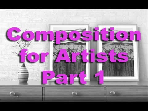 Acrylic Painting Techniques: Composition for Artists Part 1