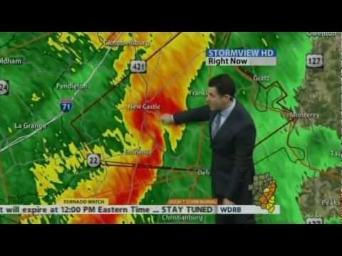 WDRB-TV - Severe Weather Coverage - 5:05-6:15am 1/30/2013