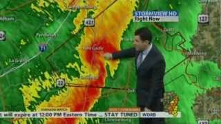 wdrb tv severe weather coverage 5 05 6 15am 1 30 2013
