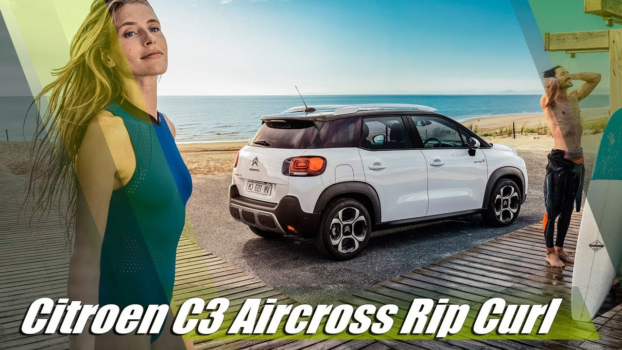 2018 citroen c3 aircross rip curl special edition youtube. Black Bedroom Furniture Sets. Home Design Ideas