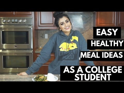 MEAL PREP/IDEAS AS A COLLEGE STUDENT | Vegetarian Protein
